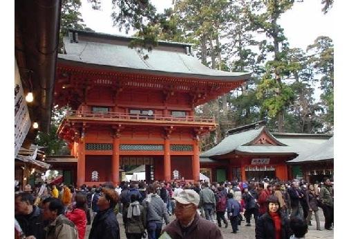 ②関東で最古の歴史を持つ鹿島神宮