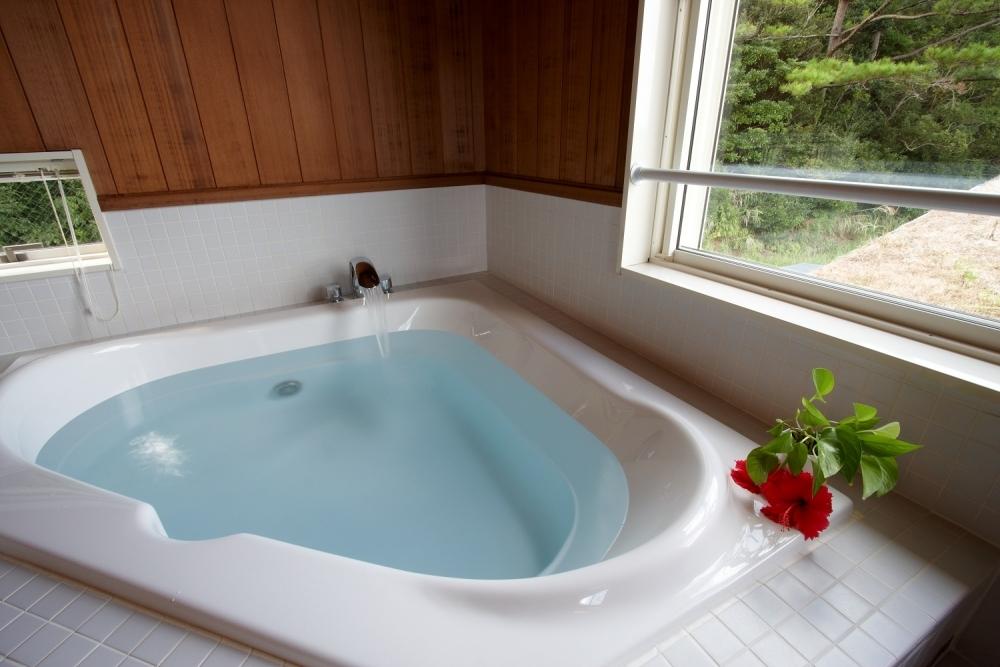 嬉しい貸切風呂のバスタイム
