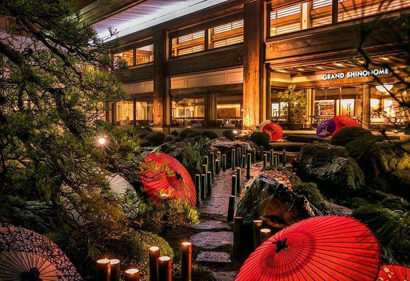幻想的な雰囲気を楽しめる「ホテルグランド東雲」(つくば市)