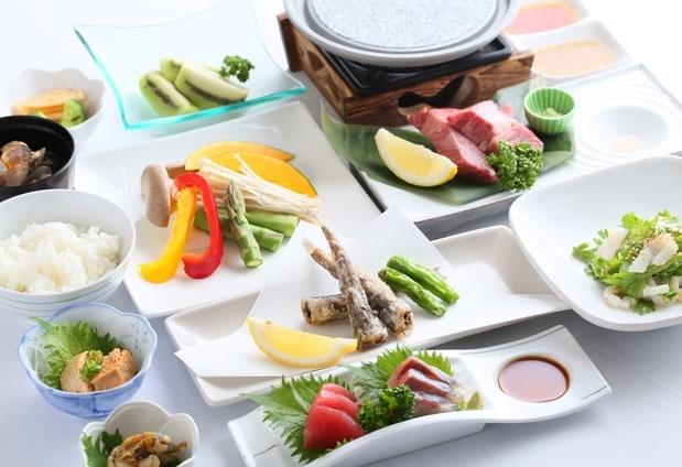 「ホテルウィングインターナショナル日立」の魅力②多彩なプランの夕食