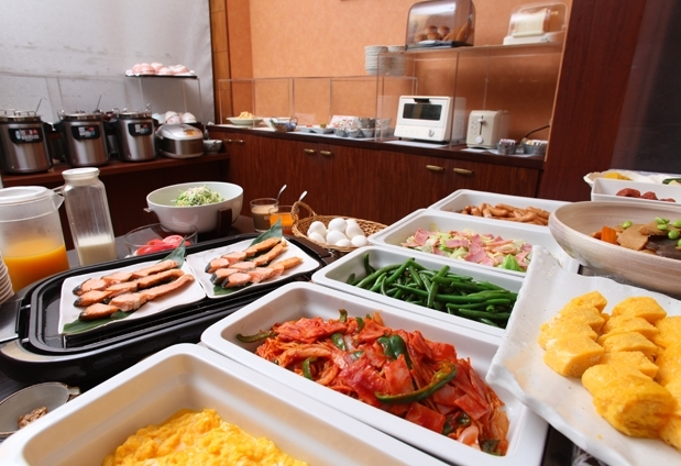 「ホテルウィングインターナショナル日立」の魅力③こだわりの朝食
