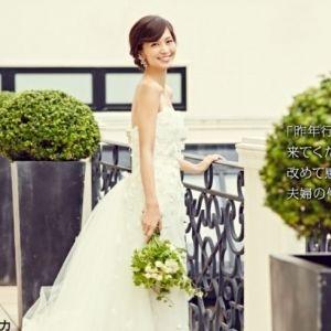 世界中のウエディングドレスが集合!タレント・安田美沙子さん着用のドレスも!
