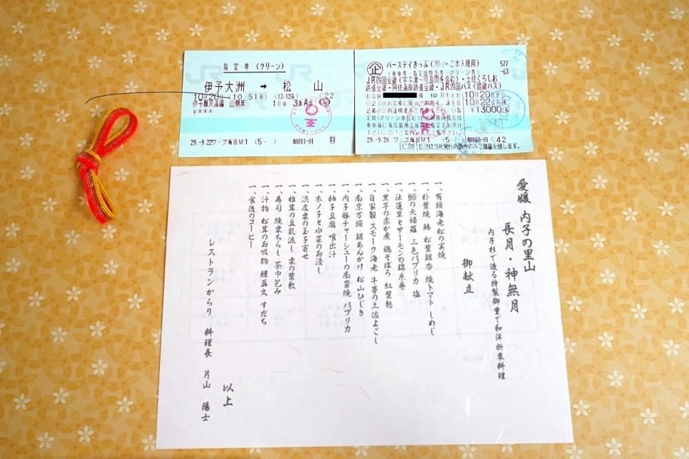 「バースディきっぷ」を使って伊予灘ものがたりに乗車!