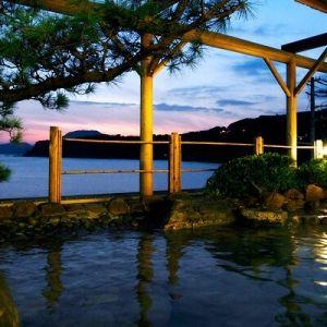目の前に広がる相模湾に癒されて。「稲取 銀水荘」で過ごす極上の時間