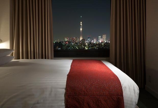 煌めく夜景に心奪われる「ホテル イースト21東京」