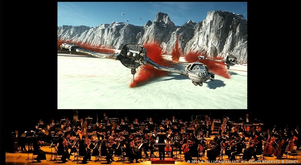 『スター・ウォーズ/最後のジェダイ』オーケストラの生演奏と共に鑑賞するシネマ