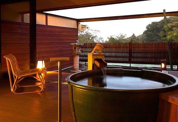 露天風呂付きの特別室「山水亭」