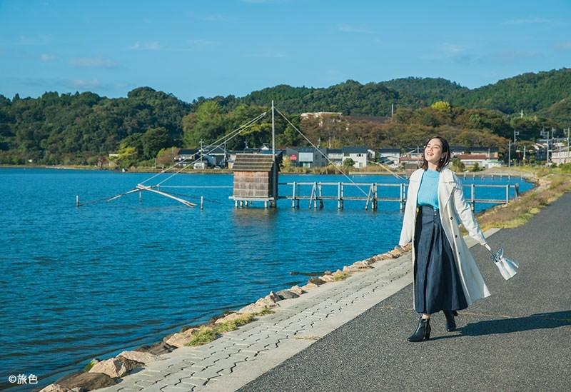 山陰八景のひとつ「東郷湖」周辺をお散歩