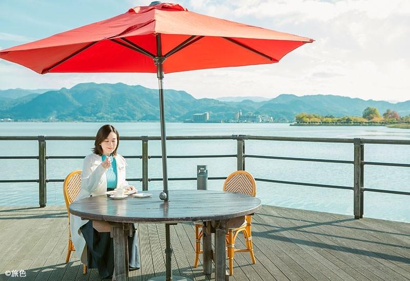 筧美和子さんが鳥取・湯梨浜町でのんびりお散歩トリップ 【月刊旅色12月号公開】その3