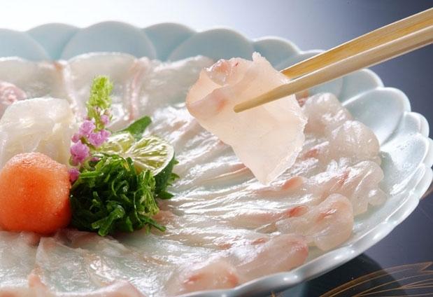高級魚・クエを食す