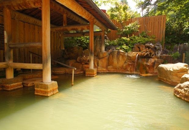 「濁河温泉 旅館御岳」の魅力②神秘の湯