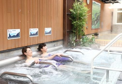 多彩な湯処で温泉を堪能。「天然温泉 ふみぞの湯」(北海道)