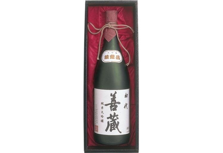 純米大吟醸酒/300年の歴史を感じる「初代善蔵」(佐賀県)