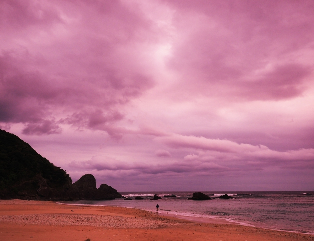 東の端っこ「特浜」の朝日に放心しました