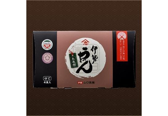 むっちりした極太麺を濃厚なタレで「常温伊勢うどん 4食入(化粧箱)」(三重)