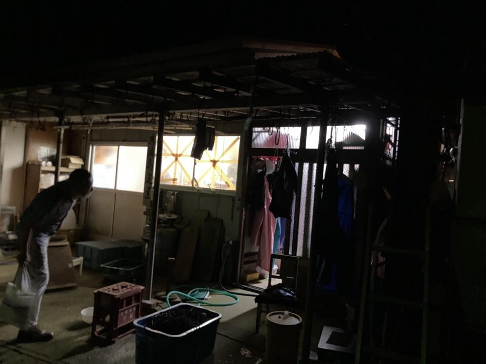 鹿渡島定置の番屋