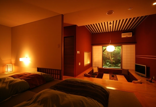 さまざまな個性に溢れた客室
