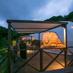 全12室のグランピング施設が京都に!「グランドーム京都天橋立」グランドオープン