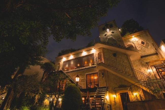 古城のような幻想的な雰囲気が魅力の一軒家レストラン「ステラ―ト」
