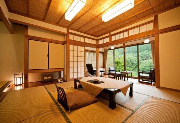 日本の伝統美を感じる離れ