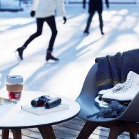 冬の軽井沢ライフの愉しみ方。天然氷の「ケラ池スケートリンク」へ