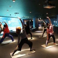 海の中の水族館ヨガ!「サンシャイン水族館」で女性限定イベント開催