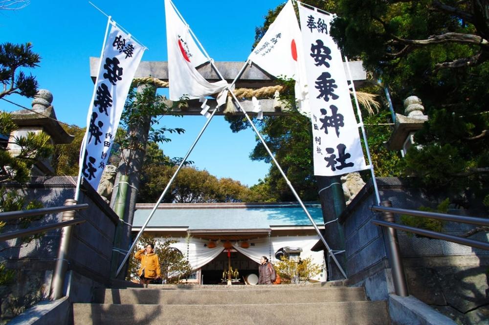 【三重】サーファー・自転車・バイク乗りに人気の「安乗神社」