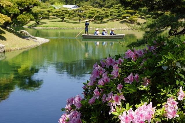 小豆島と名所を巡る4泊5日の旅プラン2日目:「栗林公園」を散策