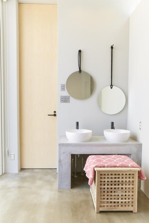 清潔感とデザイン性を兼ね備えたプレミアムな空間を用意