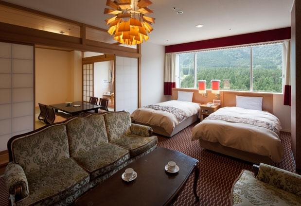 富山県にあるおすすめの宿①ホテル森の風立山
