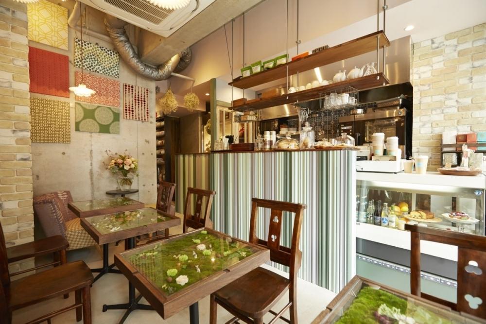 ④日本を代表するフラワーコーディネーターが作り上げる、絵本の世界のような花カフェ 【中目黒】Chou de ruban(シュードゥリュバン)