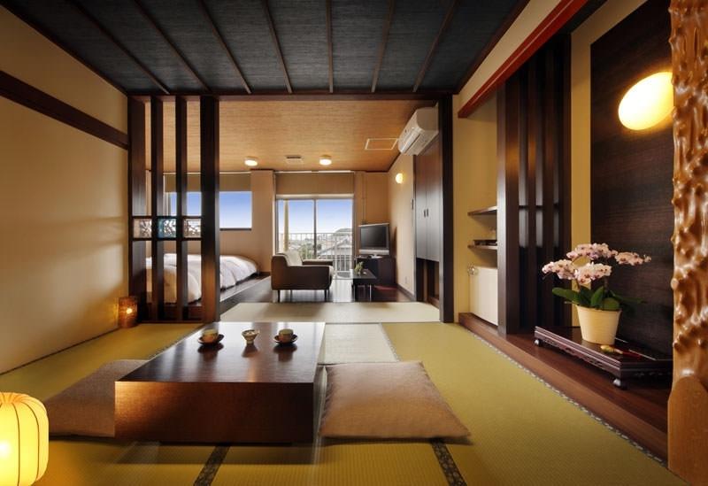 全8室の和モダンな客室