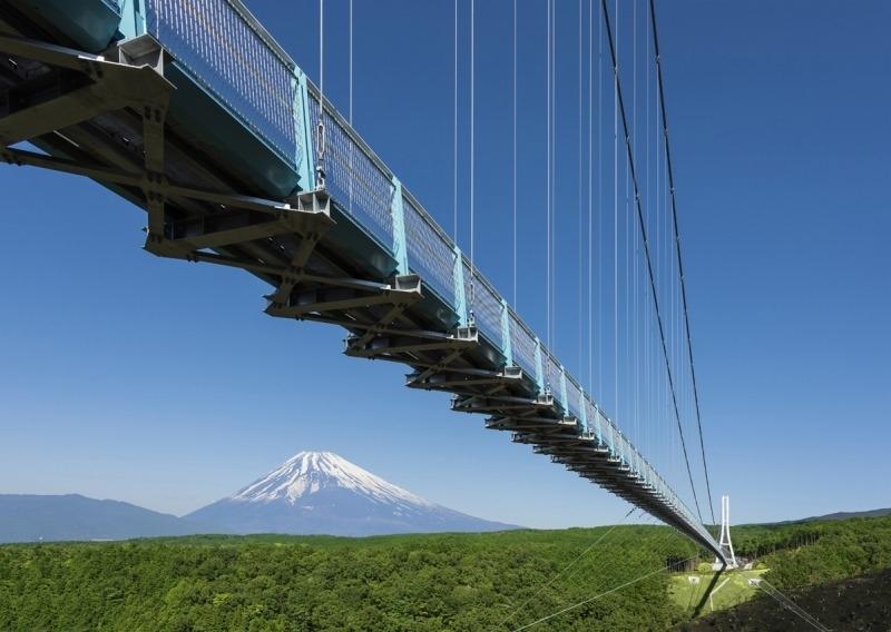 """【2】""""日本一""""を欲張るならココ! 日本最長400mの大吊橋「三島スカイウォーク」"""