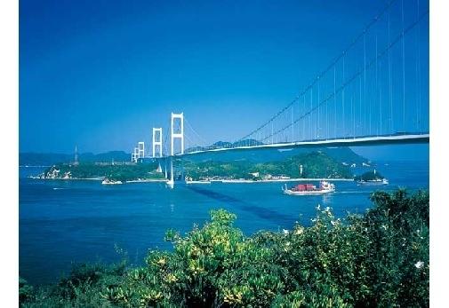 「因島大橋」で海上散歩