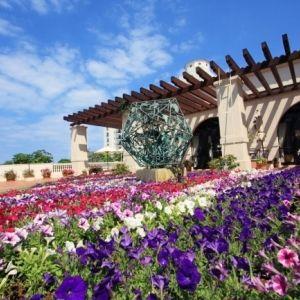 沖縄「ホテル日航アリビラ」で春満開の花のイベントその0