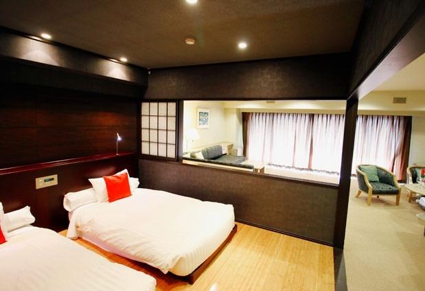 スイートルームはホテル随一の広さ「ホテルサイプレス軽井沢」