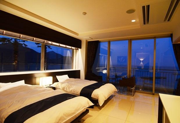 愛媛県のホテル「インランド・シー・リゾート・フェスパ」の魅力①客室