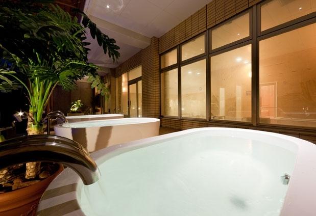 愛媛県のホテル「インランド・シー・リゾート・フェスパ」の魅力③湯浴み