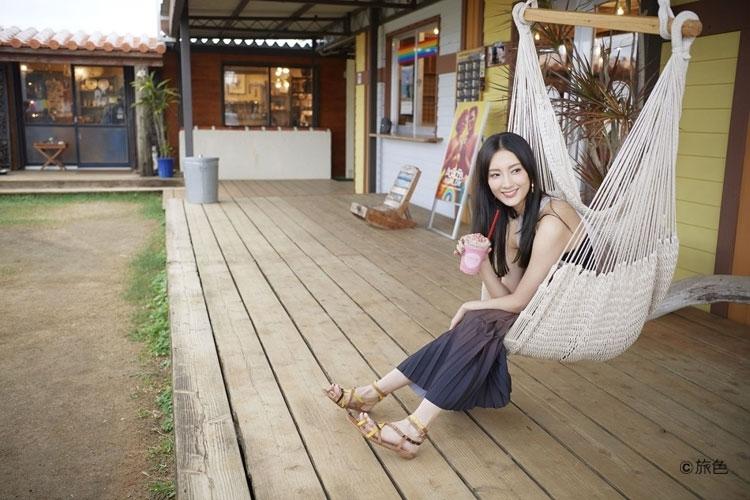 菜々緒さんが宮古島で超リフレッシュ。 南国リゾートでグルメと雑貨の魅力を発見した旅その3