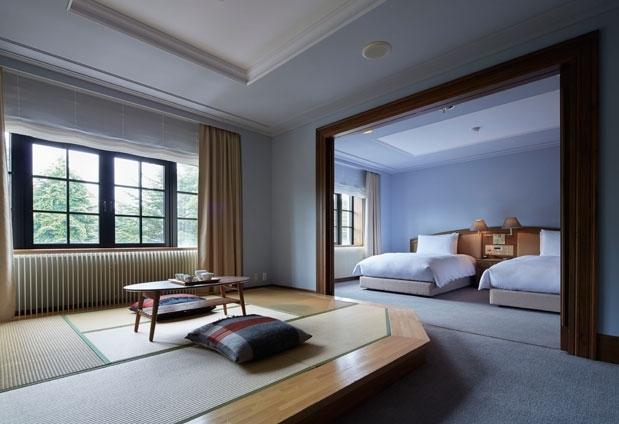 長野県「旧軽井沢ホテル」の魅力②美しい日本を集めた上質空間
