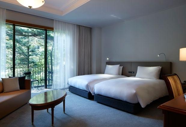 長野県「旧軽井沢ホテル」の魅力③ゆったりと寛げる客室