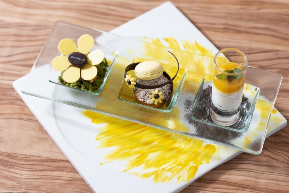 スイーツプレート「Sunflowers plate」
