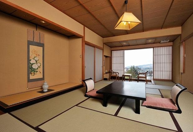 眺めの良い客室