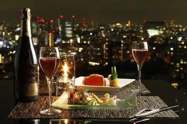 東京の夜景を見渡しながらの特別なクリスマスを