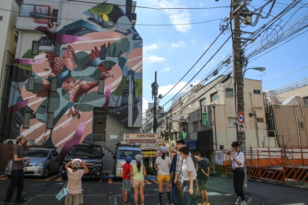 【東京】あなたが好きなのはBanksyだけ!? 通行人を虜にする高円寺ストリートアート巡りその4