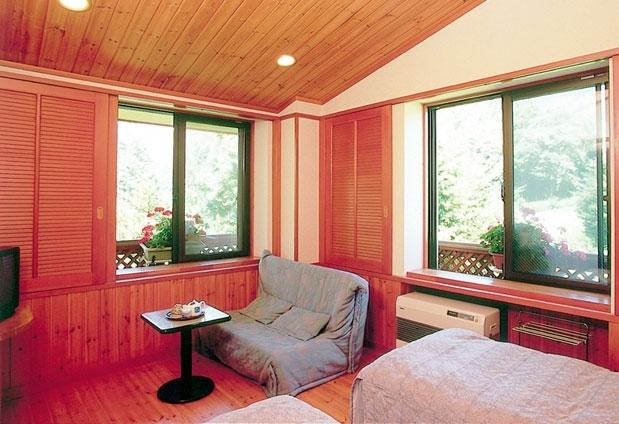 乗鞍高原温泉「木の香りのホテル グーテベーレ」の魅力➂多彩な客室