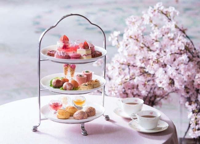 開業25周年記念!伝統レシピの桜色スイーツ