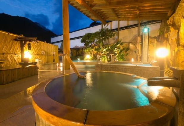 宿自慢の湯処で17の湯めぐり。温泉メインで宿泊したい岡山の宿その2