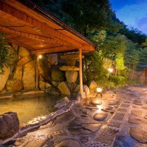 宿自慢の湯処で17の湯めぐり。温泉メインで宿泊したい岡山の宿その0