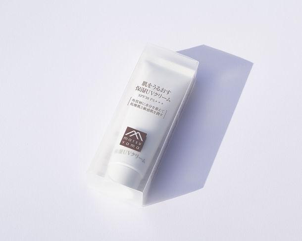 低刺激なのに実力派「肌をうるおす保湿UVクリーム」